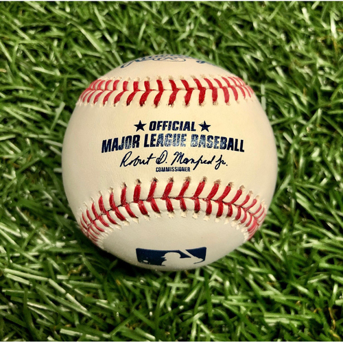 Photo of 2021 Tampa Bay Rays Game-Used Baseball (April) - PRESALE: Choose your Game Date!