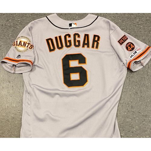 Photo of 2019 Team Issued Road Alt Jersey - #6 Steven Duggar - Size 44