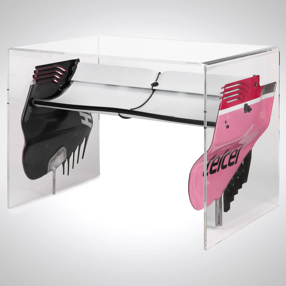 RACING POINT FORCE INDIA F1 TEAM 2018 REAR WING TABLE