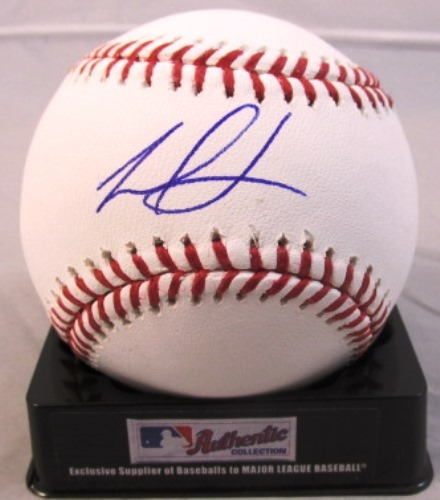 Photo of Frankie Montas Autographed Baseball