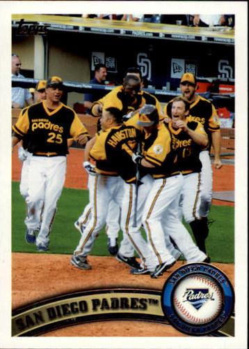 Photo of 2011 Topps #126 San Diego Padres TC