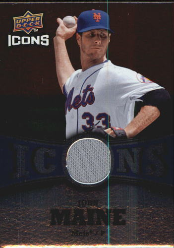 Photo of 2009 Upper Deck Icons Icons Jerseys #JM John Maine