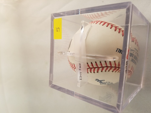 Photo of 2002 Topps Archives Reserve Autographed Baseballs #5 Jim Bunning/500