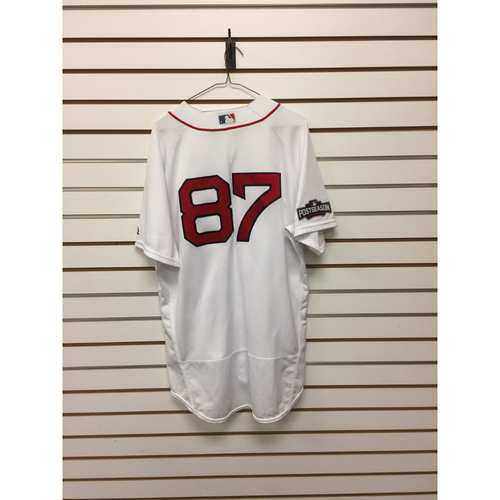 Mike Brenly Game-Used September 18, 2016 Home Jersey