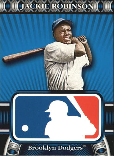 Photo of 2010 Topps Logoman HTA #10 Jackie Robinson