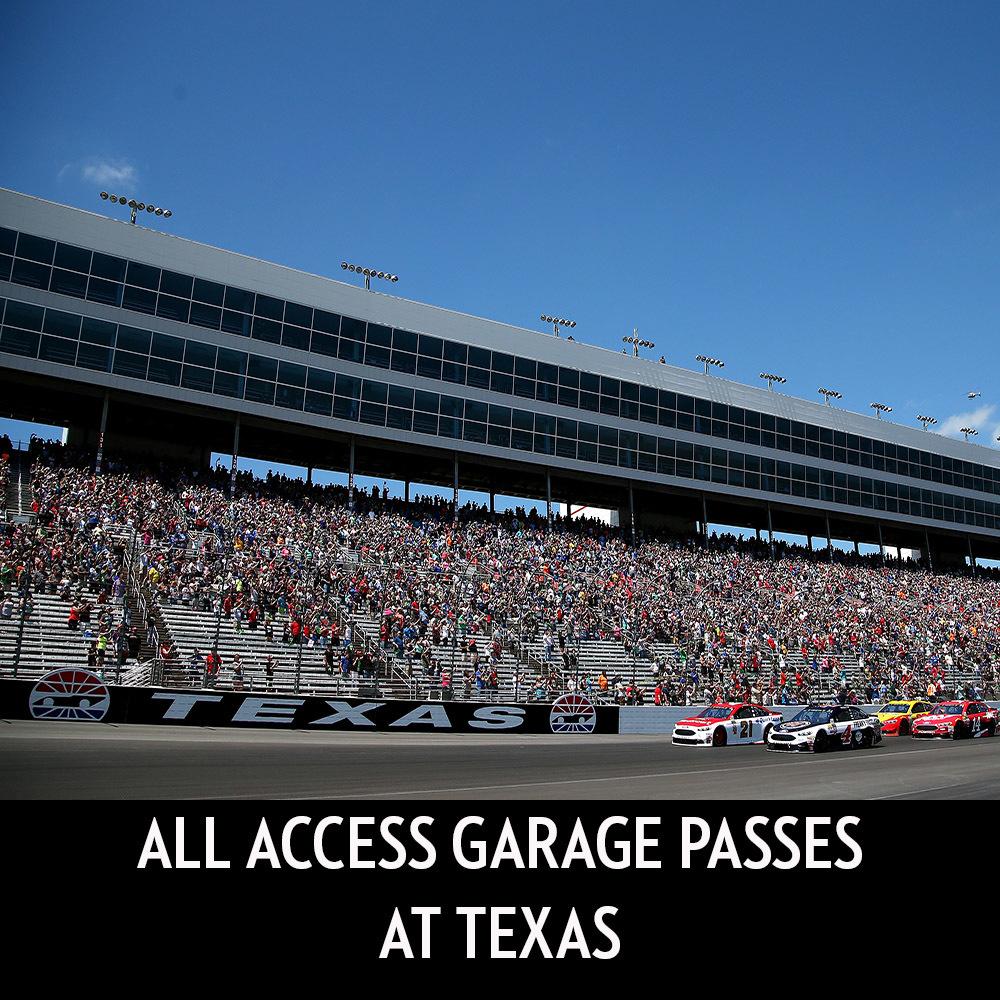 All Access Garage Passes at Texas!