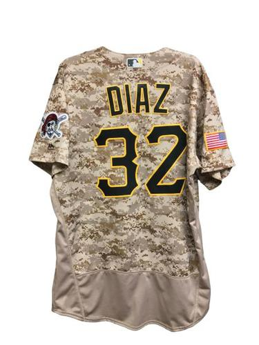 Photo of Elias Diaz Game-Used Jersey - 1 for 4