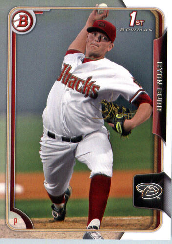 Photo of 2015 Bowman Draft #60 Ryan Burr