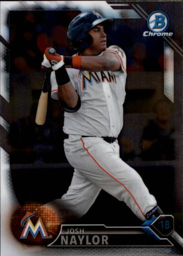 Photo of 2016 Bowman Chrome Prospects #BCP67 Josh Naylor