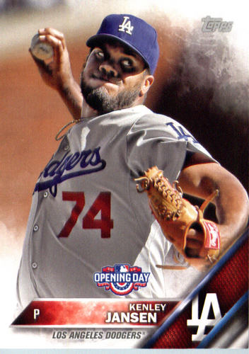 Photo of 2016 Topps Opening Day #OD5A Kenley Jansen