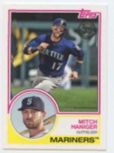 Photo of 2018 Topps Update '83 Topps #8318 Mitch Haniger