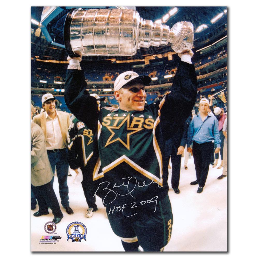 Brett Hull Dallas Stars 1999 STANLEY CUP Autographed 8x10