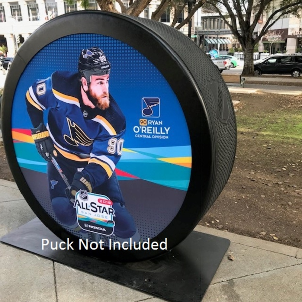 2019 NHL All Star Game Banner Featuring Ryan O'Reilly (St. Louis Blues)