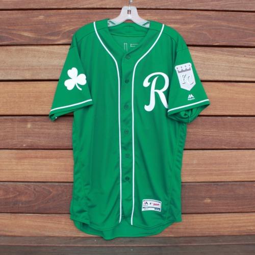 Photo of Team-Issued Saint Patrick's Day Jersey: Richard Lovelady (Jersey Size 44)