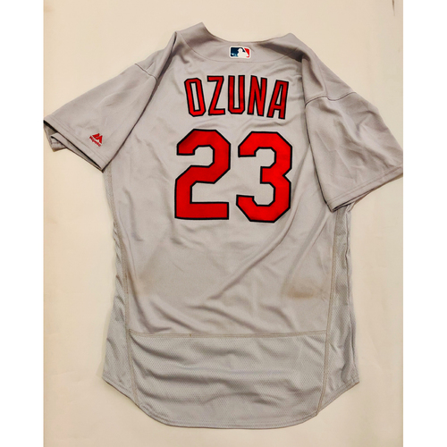Photo of 2019 Mexico Series Game Used Jersey - Marcell Ozuna Size 44 (St. Louis Cardinals)