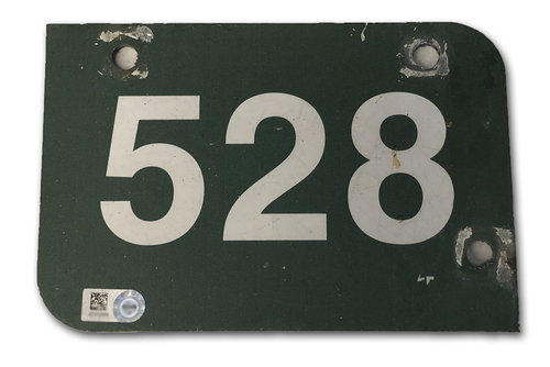 Photo of Wrigley Field Collection -- Aisle Marker 528 -- Removed after 2018 Season