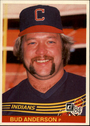 Photo of 1984 Donruss #590 Bud Anderson