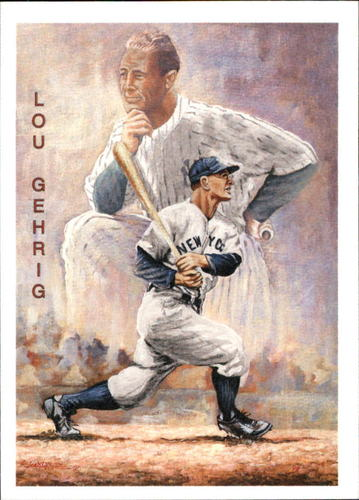 Photo of 1994 Ted Williams Locklear Collection #LC13 Lou Gehrig