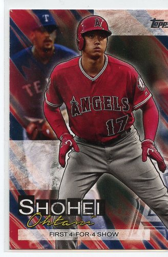 Photo of 2019 Topps Update Shohei Ohtani Highlights #SO12 Shohei Ohtani