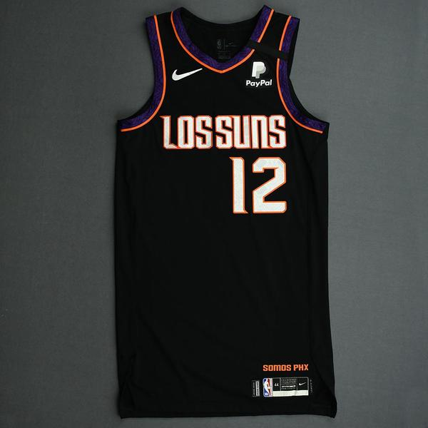 Image of Jared Harper - Phoenix Suns - Game-Issued City Edition Jersey - 2019-20 NBA Season