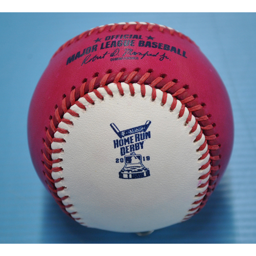 Photo of Game-Used Baseball - 2019 Home Run Derby - Joc Pederson - Round 2, Out