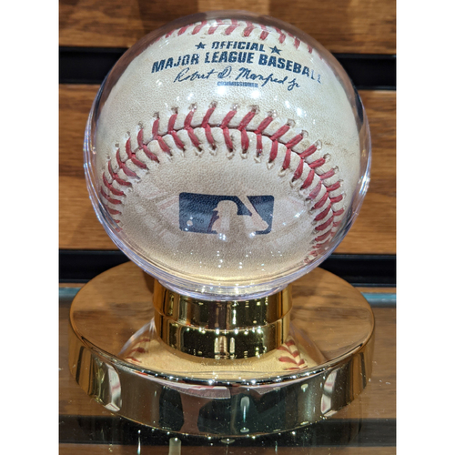 Photo of Red Sox vs. Rays April 20, 2016 Game Used Baseball