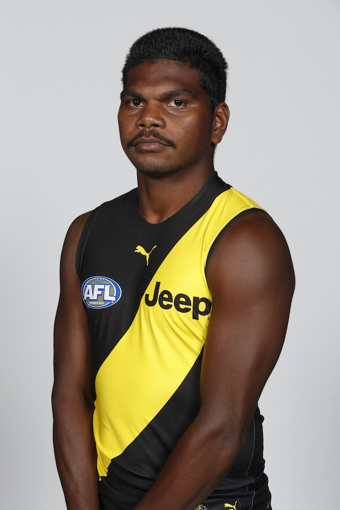 2021 Player Issue Alannah & Madeline Foundation Guernsey - Maurice Rioli Jr #49