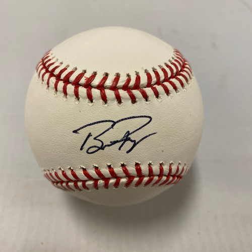 Photo of Buster Posey BP28 Foundation - Autographed Baseball - #28 Buster Posey