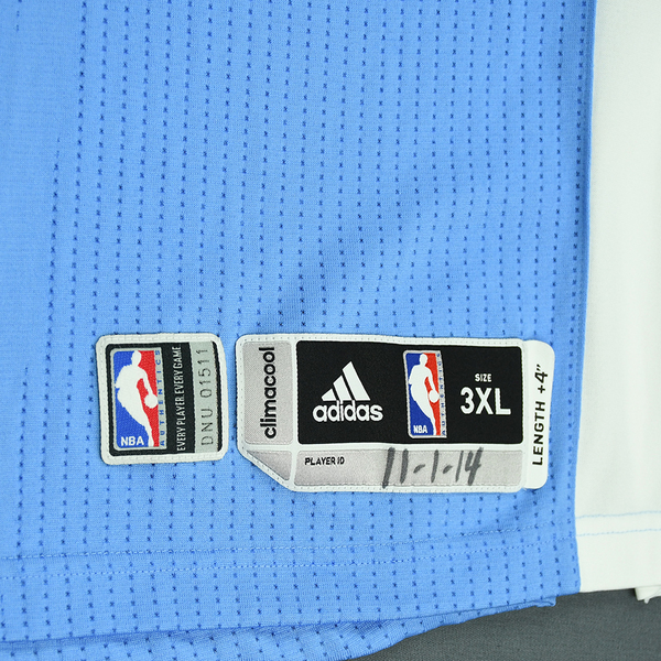 Jusuf Nurkic - Denver Nuggets - Game-Worn Jersey - 2014-15 NBA ... 9d3f09f1a