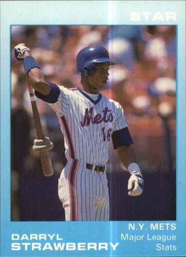 Photo of 1988 Star Strawberry Glossy #3 Darryl Strawberry/Major League Stats
