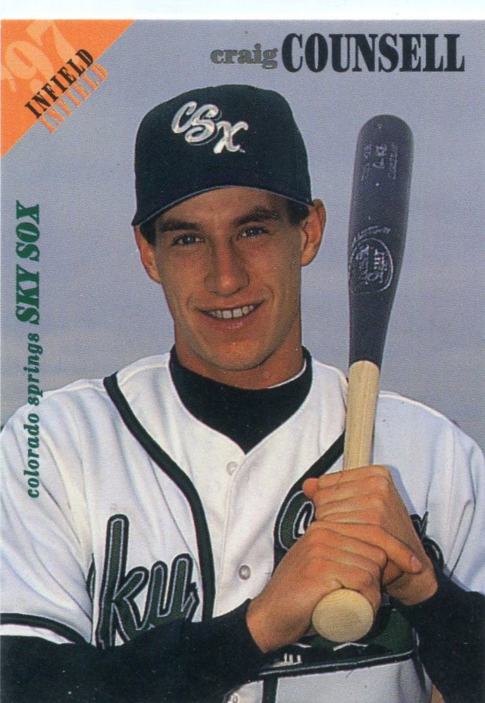 1997 Colorado Springs SkySox Team Issue #3 Craig Counsell