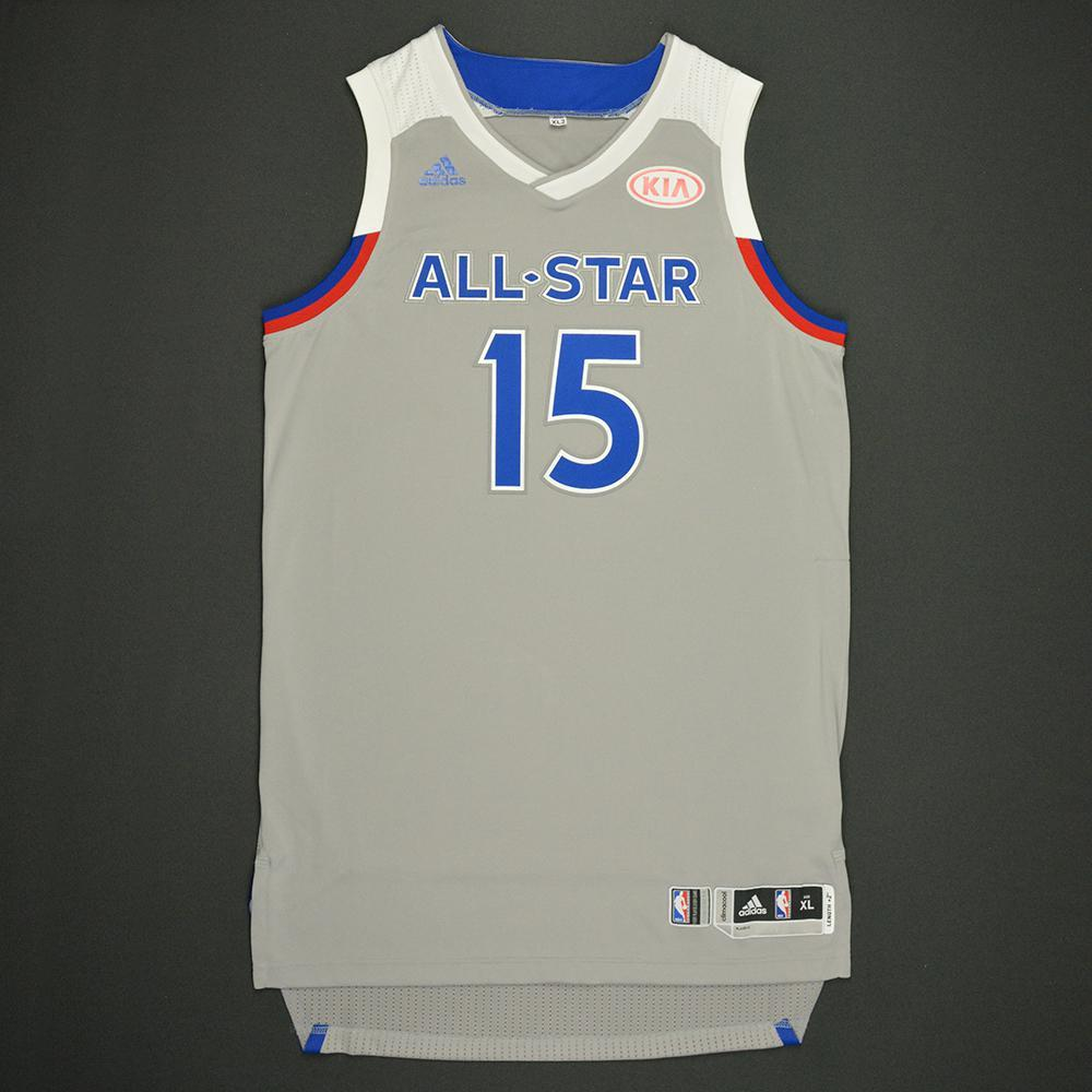 e73f939a6562 Kemba Walker - 2017 NBA All-Star Game - Eastern Conference - Autographed  Jersey