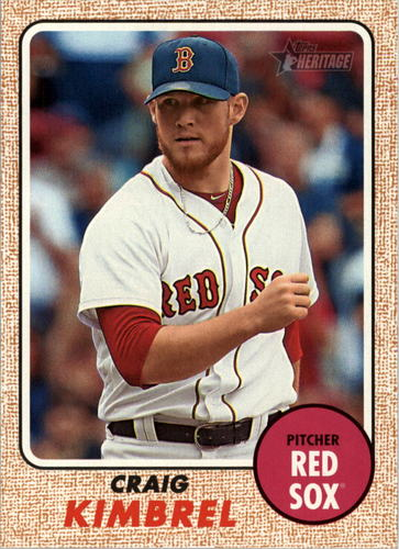 Photo of 2017 Topps Heritage #346 Craig Kimbrel