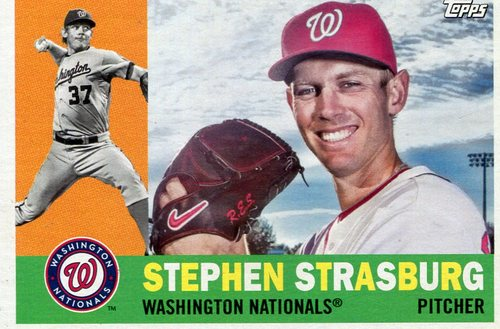 Photo of 2017 Topps Archives #65 Stephen Strasburg