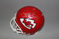 CHIEFS - DERRICK JOHNSON SIGNED CHIEFS PROLINE HELMET