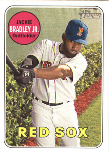 Photo of 2018 Topps Heritage #391 Jackie Bradley Jr.