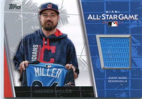 Photo of 2017 Topps Update All Star Stitches Andrew Miller