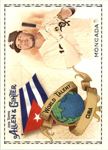 Photo of 2018 Topps Allen and Ginter World Talent #WT11 Yoan Moncada