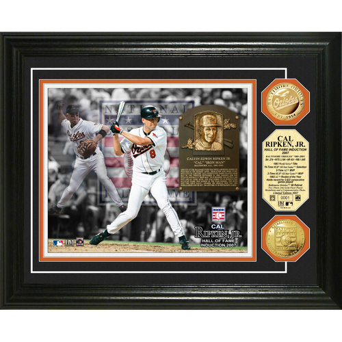Photo of Cal Ripken Jr. Baseball HOF Gold Coin Photo Mint