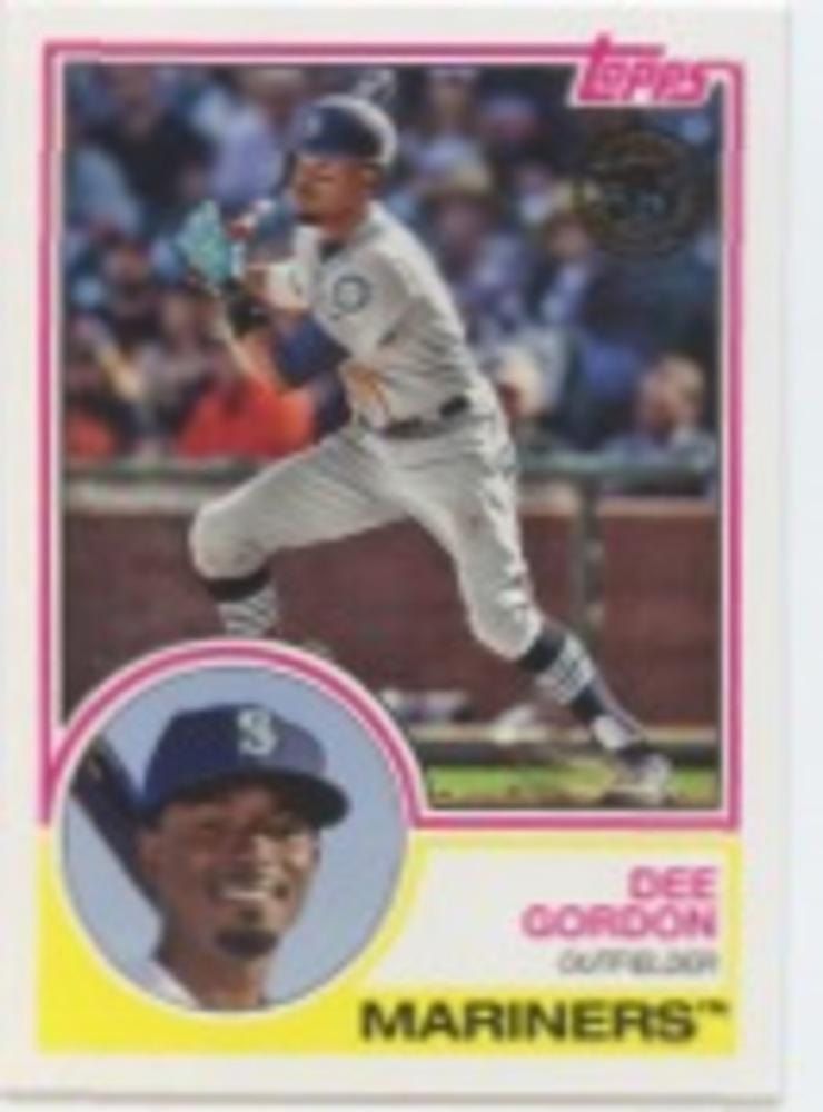 2018 Topps Update '83 Topps #8324 Dee Gordon