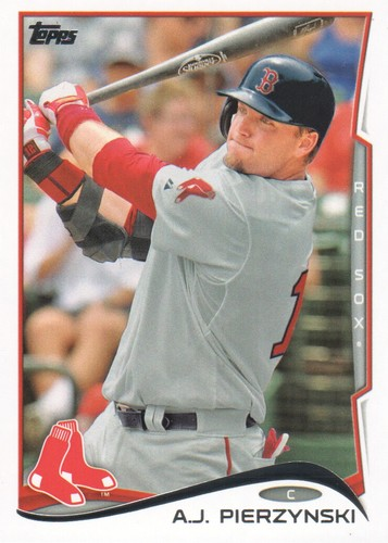 Photo of 2014 Topps #595 A.J. Pierzynski