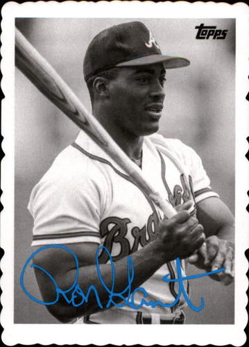 Photo of 2014 Topps Archives '69 Deckle Minis #RG Ron Gant
