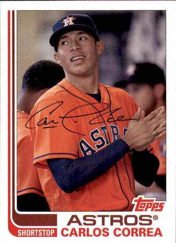 Photo of 2017 Topps Archives #102A Carlos Correa