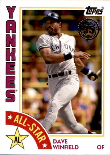 Photo of 2019 Topps '84 Topps All Stars #84ASDW Dave Winfield