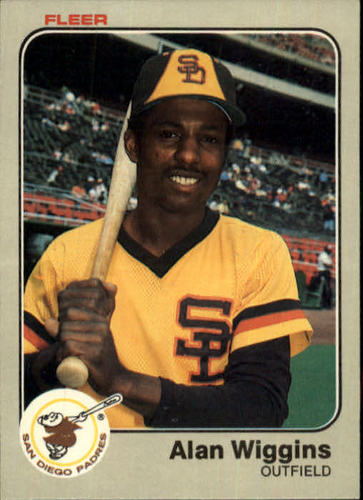 Photo of 1983 Fleer #375 Alan Wiggins
