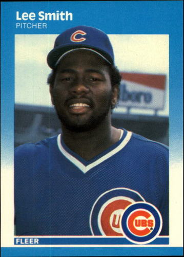 Photo of 1987 Fleer #574 Lee Smith