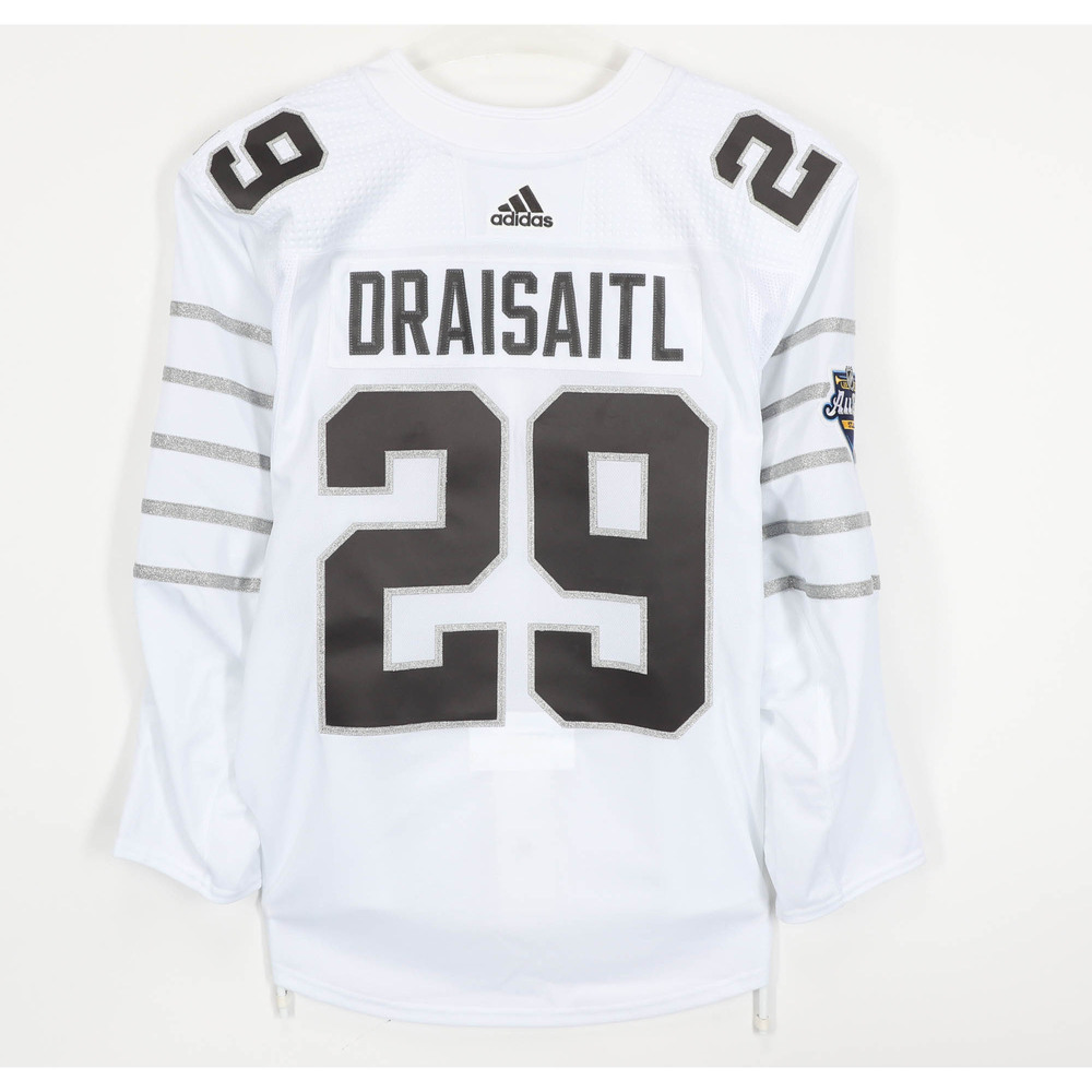Leon Draisaitl Edmonton Oilers Game-Used 2020 All-Star Game Jersey