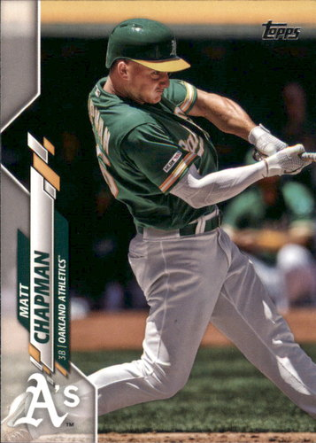 Photo of 2020 Topps #127 Matt Chapman
