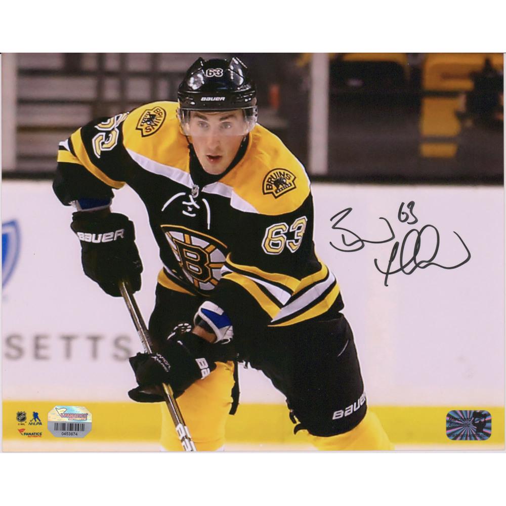 Brad Marchand Boston Bruins Autographed 8