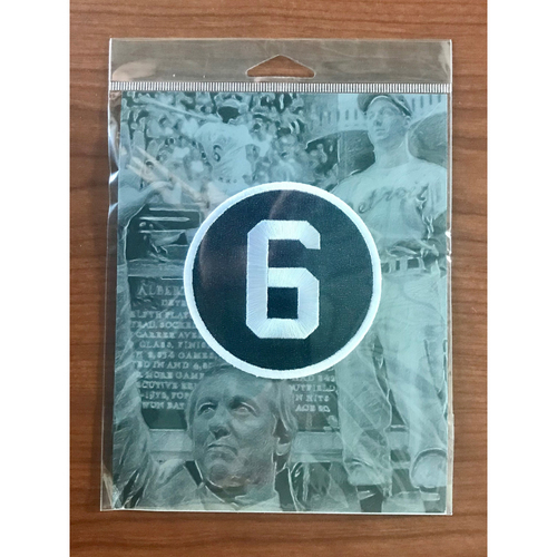 Photo of Commemorative Al Kaline #6 Detroit Tigers Sleeve Patch